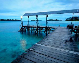 Dermaga Pulau Macan Resort