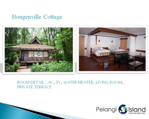 Pulau Pelangi Resort - Bougenville Bungalow