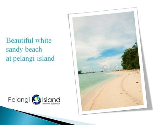 Pulau Pelangi Resort - Pantai Pasir Putih