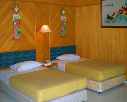 Pulau Putri Resort - Akomodasi Twin Bedroom