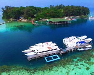 Pulau Putri Resort - Drone View