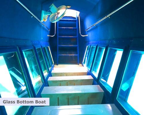 Pulau Putri Resort - Glass Bottom Boat